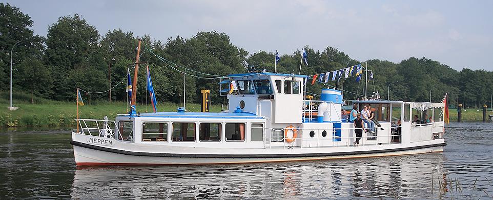 Bereisungsschiff Meppen